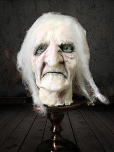 Evil Edna - cake by Elizabeth Beautiful Cakes, Amazing Cakes, Horror Cake, Tattoo Cake, Fall Cakes, Halloween Cakes, Halloween Horror, Love Cake, Creative Cakes