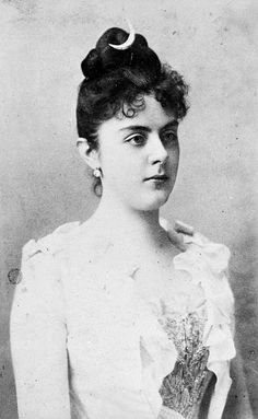 Mary Vetsera - the teen aged mistress of Archduke Rudolph of Austria.  Probably murdered by Rudolph, as it is unlikely this lovely young girl would have chosen to join him in a suicide.