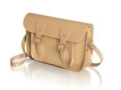 Cambridge satchel - patent mink