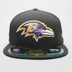 1acc719970 New Era cap 59FIFTY NFL On Field Baltimore Ravens