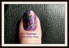 Nail Art Foils – Another simple design for Beginners