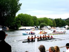 Rowing race at the Henley Royal Regatta in Henley on Thames, England