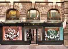 Wonderland Window Display Design for Minna Parikka by Janine Rewell — Agent Pekka