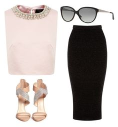 """""""Outfit Idea by Polyvore Remix"""" by polyvore-remix ❤ liked on Polyvore featuring moda, Ted Baker, Ralph Lauren, Giuseppe Zanotti y Warehouse"""