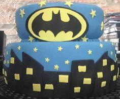 Torta Batman.  Por qué te mereces lo mejor!