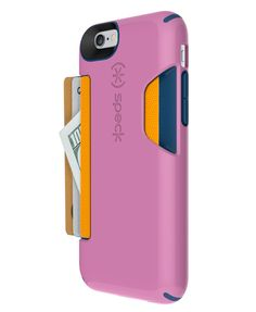 We love these rad iPhone 6 cases! Speck's credit card-storing cases ($40; speckproducts.com) #InStyle
