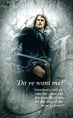 Jamie asks Claire when she travels back through time 200 years to find him