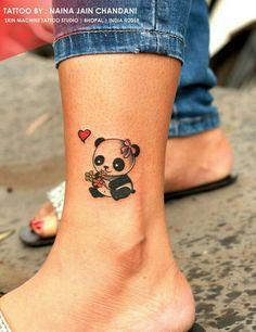 Cute Henna Tattoos, Cute Animal Tattoos, Cute Little Tattoos, Classy Tattoos, Tiny Tattoos For Girls, Cute Tattoos For Women, Elegant Tattoos, Girly Tattoos, Tattoos For Daughters
