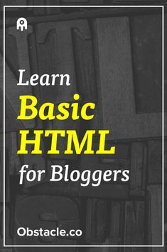 Did you know that learning the basics of HTML will help your blogging and design skills increase 100x? Here are the basics you should know.