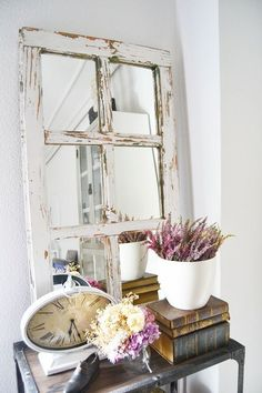 Ideas para decorar tu cocina al estilo vintage Home Decoracion, Deco Addict, Vintage Mirrors, Hallway Decorating, Beach House Decor, Home Decor Bedroom, Interior Design Living Room, Interior Livingroom, Boho Decor
