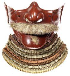 A Nanban kabuto (helmet) and a menpo (half mask) The kabuto Momoyama period (1573-1615), the menpo Edo period (1615-1868), 18th/19th century (2)