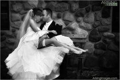 Sexy bride/groom photo