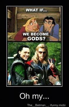 Road to El Dorado + Thor