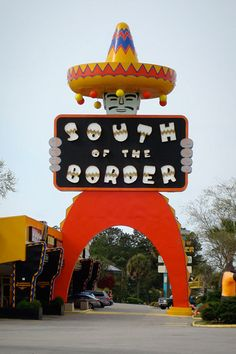 Fun stop on a trip to Florida.  On the border of N. and S. Carolina.