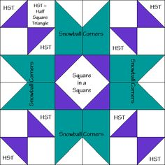 County Fair Quilt Block Diagram Free Pattern at QuiltTherapy.com!