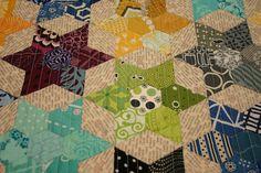 EPP Starflower pillow - detail | Flickr - Photo Sharing!