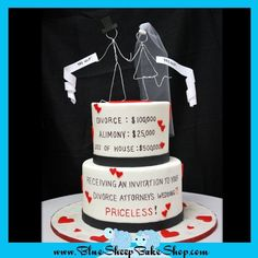 Divorce Attorney Cake on Cake Central Divorce Attorney, Divorce Lawyers, Divorce Humor, Cost Of Divorce, Divorce Party, Divorce Cakes, Divorce Mediation, Perfect Beard, Beer Opener