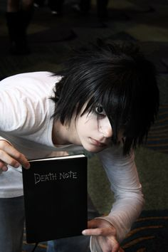 L - Death Note cosplay