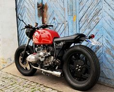 Bmw Brat Style #motorcycles #bratstyle #motos | caferacerpasion.com