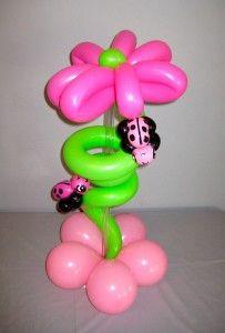 ladybugs. #balloon centerpiece #balloon-centerpiece  #balloon decor…