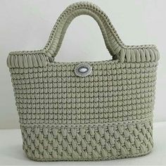 Free Crochet Bag Patterns Part 12 50 Fast And Attractive Free Crochet Pattern – Diy Rustics – SkillOfKing.Shopper With Leather Bottom Bag Crochet(Video) Tap the image to learn crochet step by step and have access to graphicOrganize & Stora Free Crochet Bag, Crochet Tote, Crochet Handbags, Crochet Purses, Diy Crochet, Crotchet Bags, Knitted Bags, Bag Pattern Free, Tapestry Crochet