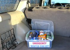 DIY Emergency Winter Car Kit