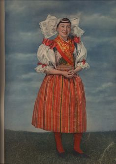 National Costume of the Pilzn Region, Czech Republic Bride Costume, Folk Costume, Bohemian Costume, The Visitors, Czech Republic, Fashion History, Folklore, Traditional Outfits, Central Europe