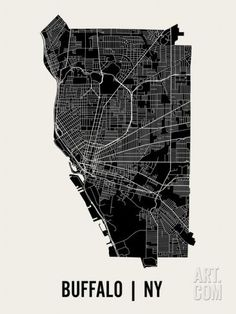 Buffalo Art Print by Mr City Printing. Save up to 40% for a limited time at Art.com.