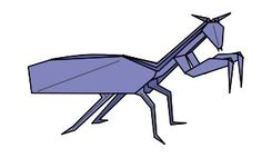 praying Mantis origami