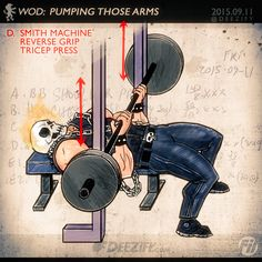 Pack On Some Tricep Beef With This Tricep Exercise #triceps #armday #flex #biker #tricepexercises