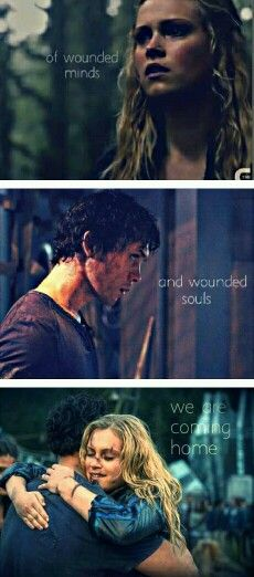 because we are our home. #BellamyandClarke #Bellarke