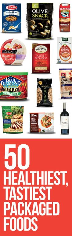 """Getting to the grocery store is one thing. Not being tricked into buying unhealthy """"healthy"""" items is another. Here are 50 supermarket stars to put on your list"""
