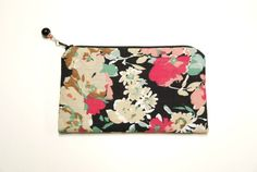 Handmade Floral Coin Purse
