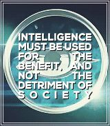 """Intelligence must be used for the benefit, and not the detriment of society."" Erudite ~Divergent~ ~Insurgent~ ~Allegiant~"