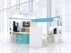 https://flic.kr/p/BbZiKg | Exhibition stand design for DySIS Medical | Exhibition stand design