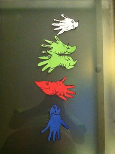 One fish two fish red fish blue fish on pinterest red for Blue fish pediatrics
