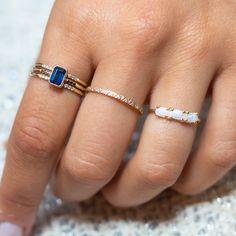 Unique Yet Timeless Fine Jewelry Audry Rose, Tea Length Wedding Dress, Summer Glow, Jewelry Ideas, Jewlery, Opal, Fashion Accessories, Sapphire, Fine Jewelry