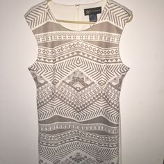 Kardashian kollection body con dress Never worn, new with tags! Great pattern with a tight fit. Will take offers or trades! Kardashian Kollection Dresses