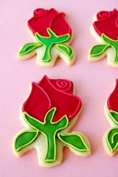 Rose Cookies for preference (could put girls name in black)