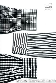 Everyone knows what a button up is.  Why not focus on the patterns/prints in a graphic way?
