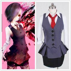 Tokyo Ghoul Cosplay Kirishi Matouka Costumes Free Shipping Worldwide sales $ 105.9
