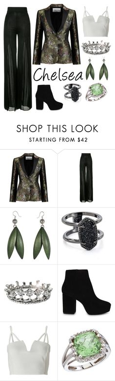 """Chelsea's Show"" by the-game-is-something ❤ liked on Polyvore featuring Valentino, Balmain, Kendra Scott, ALDO, Miss Selfridge and BillyTheTree"