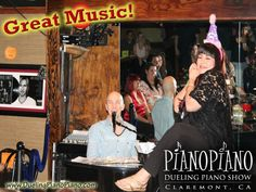 PianoPiano Dueling Pianos! is a fab place for a birthday celebration!