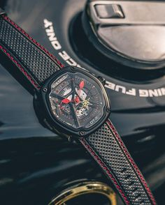 Black and red as dark and passion.. DIETRICH OT-2 by Dietrich Watches #tempoprezioso #dietrich #organictime #watchinsanity #timepieces #watchs #billionairetoys #dailywatch #luxurywatch #horology #watchporn #womw #tourbillon #chronograph #wristshot #watchesofinstagram #watchnerd #watchoftheday #horophile #wruw #luxury #mondani #rolexero #gentleman #orogoli #montres #reloj #watchanish #wristporn #thebillionairesclub by dietrichitaly