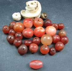 Currently at the #Catawiki auctions: A collection of 30 beads from various locations and ages - 500 AD to 1970's