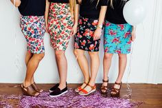 I love these party skirts! Which one is your fave?