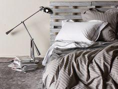 Linen | Pillows - Banjo Stripe Grey
