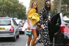 #annadellorusso #giovannabattaglia #dress #italian #couture #paris #pfw #women #fashionweek #ss15 #mbfw #fashion #style #look #outfit #streetfashion #streetstyle #mode #moda #style #streetlook