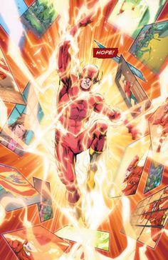 "The Flash - ""The Future Flash"" ""written by Joshua Williamson art Howard Porter & Hi-Fi "" Flash Comics, Dc Comics, Fastest Man, Chapter One, Comics Online, Man Alive, The Flash, Comic Art"