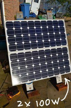 Installing solar panels on my campervan